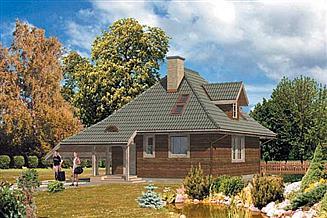 Projekt domu WB-3388