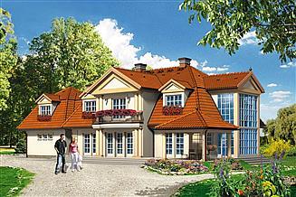 Projekt domu Willa Ustronie