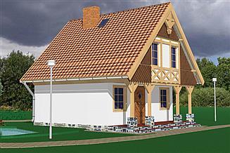 Projekt domu Tałty