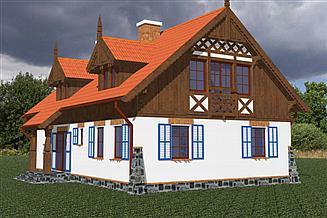 Projekt domu Jeziorak 1