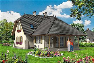 Projekt domu Paprotka