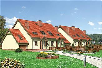 Projekt domu Stonoga - murowana – ceramika