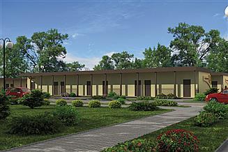 Projekt domu opieki BSC3 budynek socjalny