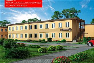 Projekt socjalny BSC4 budynek socjalny