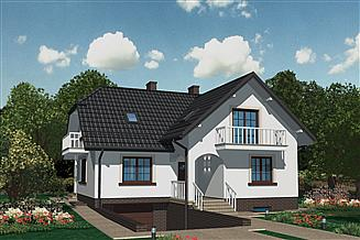 Projekt domu APS 116