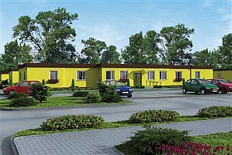 Projekt domu opieki BSC2 budynek socjalny