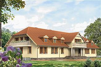 Projekt pensjonatu Polana 3 Pensjonat, Hotel, Dom weselny