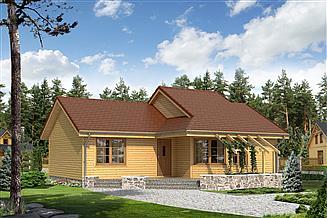 Projekt domu letniskowego Szyper dr-S
