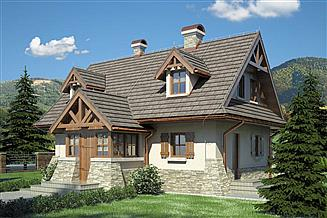 Projekt domu Ondraszek