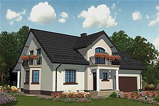Projekt domu APS 161+2G