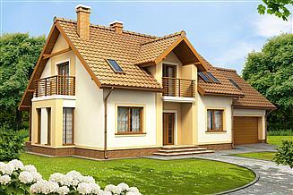 Projekt domu Tofi 2