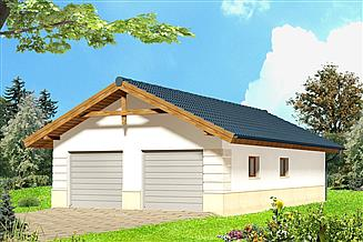 Projekt garażu Garaż ARP01