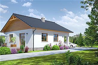 Projekt domu Orzeszkowo