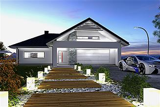 Projekt domu Portland