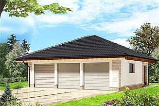 Projekt garażu Garaż ARP05