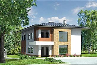 Projekt sklepu Murator U15c Budynek usługowy