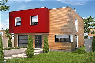 Projekt domu Delft II DCP294a