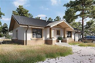 Projekt domu Aspen III LMB67b
