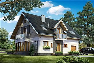 Projekt domu Axel Neo - murowana – ceramika