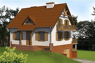 Projekt domu Ufik 7p