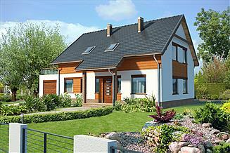 Projekt domu Hamburg III LMP07b