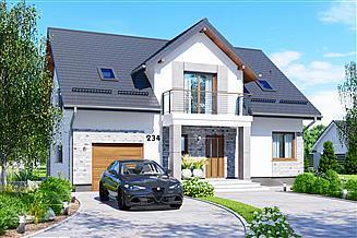Projekt domu APS 234