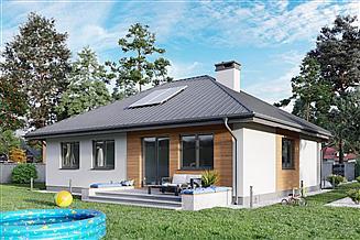 Projekt domu Lena Bobo - murowana – keramzyt