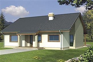 Projekt domu Antek 2A