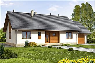 Projekt domu Bianco G1