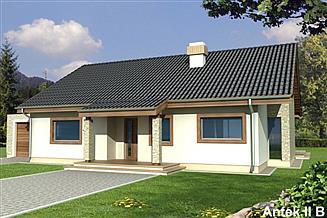 Projekt domu Antek 2B garaż