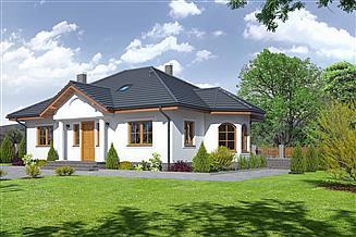 Projekt domu Zadębie średnie 3ab