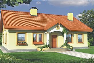 Projekt domu Sielanka 2A