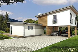 Projekt domu Mango 2A 2W