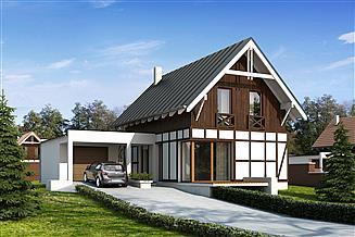 Projekt domu Teo 3