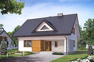 Projekt domu Indygo 4