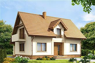 Projekt domu Tiramisu