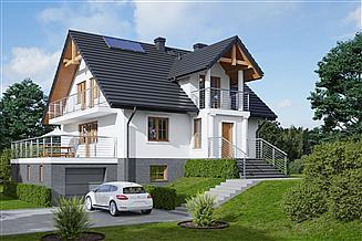 Projekt domu Brzozów