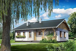 Projekt domu Kruszyna - murowana – ceramika