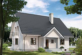 Projekt domu Goździk 2