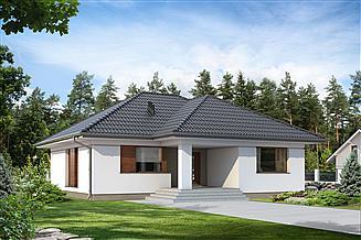 Projekt domu Umbra
