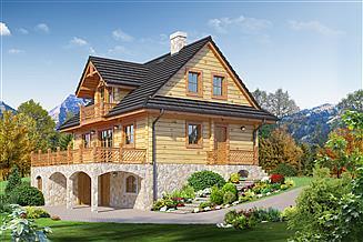 Projekt domu Jaworzynka dw