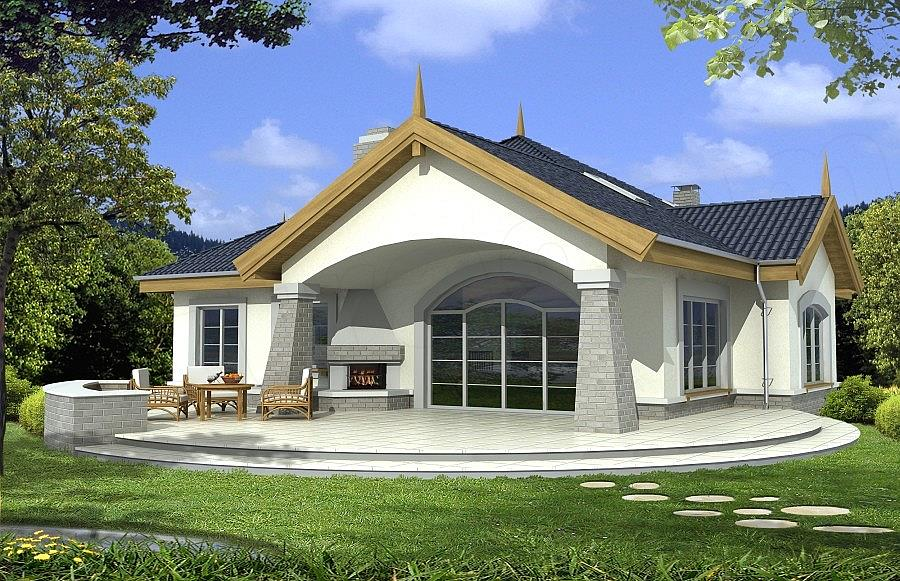Projekt Domu Arabella B Z Antresolą 1394 M2 Koszt Budowy Extradom