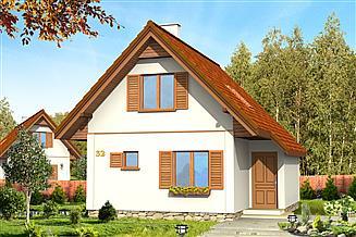 Projekt domu Francik