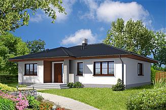 Projekt domu Saga II LMB69a