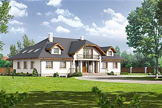 Projekt domu Gdów nowy 9