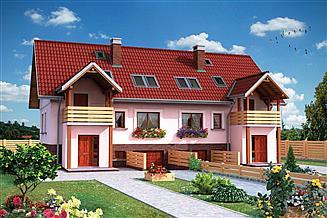 Projekt domu Cis Duo - murowana – ceramika