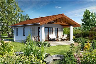 Projekt domu letniskowego Ibiza LMW15