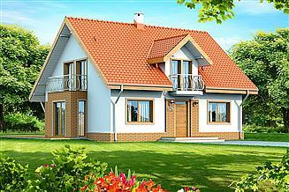 Projekt domu Belinda (Armanda z wykuszem)