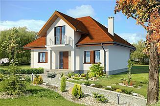 Projekt domu Dijon IV DCP234c