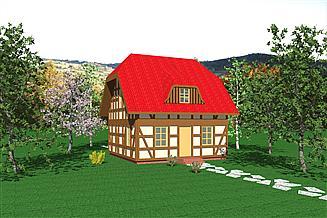 Projekt domu WB-3386